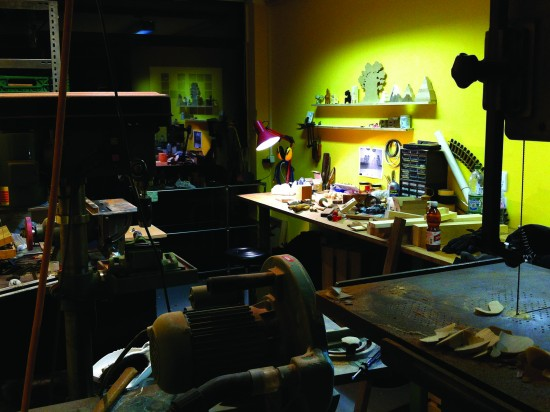 "Pepe Hiller's ""Small Stuff"" studio"