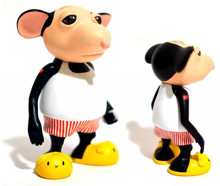 Stevie the Wonder Mouse by Okedoki