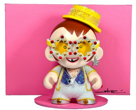 Munny Legends and Childhood Visuals: Elton John by Stor Dubiné