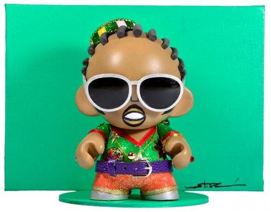 Munny Legends and Childhood Visuals: Stevie Wonder by Stor Dubiné