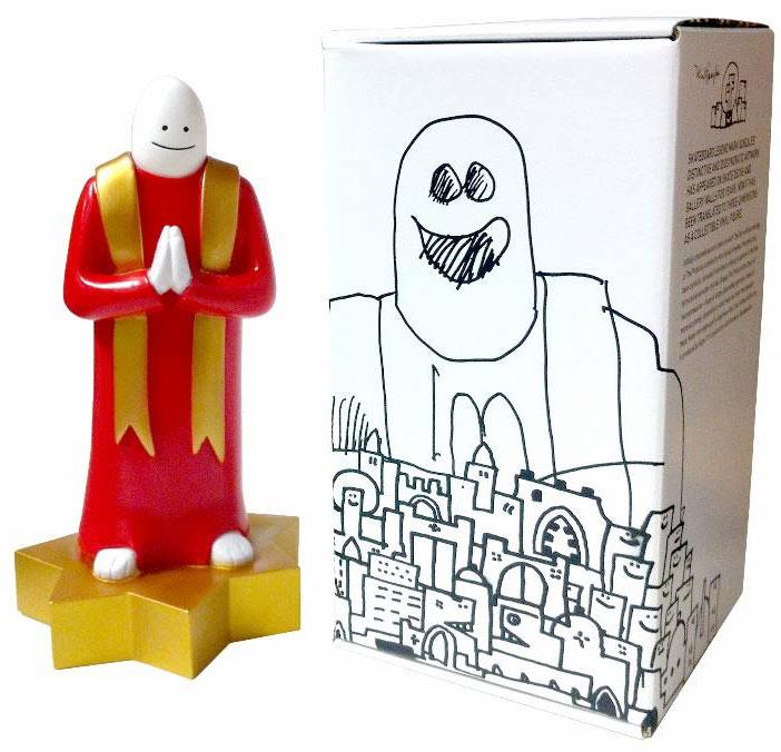 Super7 x Mark Gonzales The Priest vinyl toy