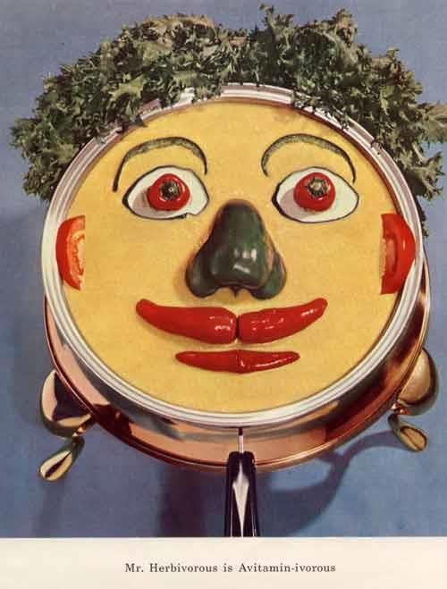 Dayalets mascots: Mr. Herbivorous