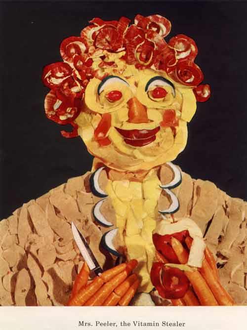 Dayalets Vitamin Characters: Mr. Peeler