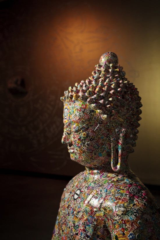 Pop Culture Buddhas by Gonkar Gyatso