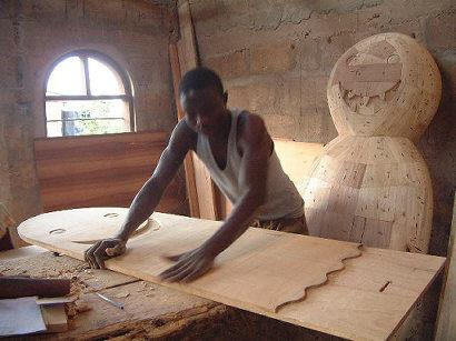 Olaf Breuning's Ghanaian Caskets