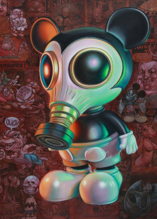 Ron English &quot;Mouse Mask Murphy&quot; (2011)