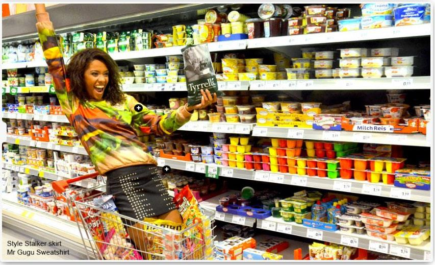 Mr. GUGU and Miss Go Grocery Shopping