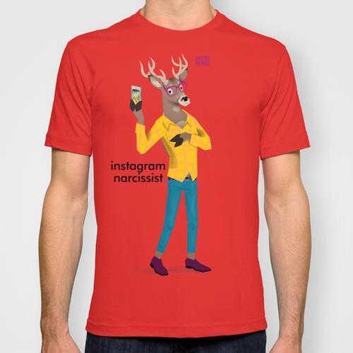 Hipster Animals T-shirts
