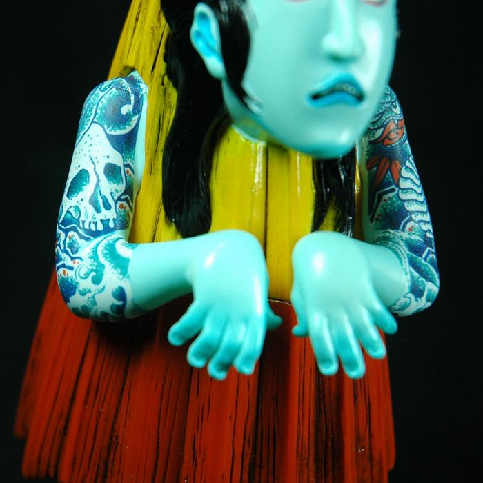 Karakasa Tattoo Man Toy by SecretBase x TAG