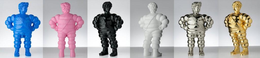 Life-size Michelangelo sculptures by Francesco de Molfetta x TAG