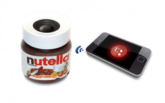 Ferrero x colette Nutella bluetooth audio speakers