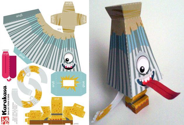 Как сделать платья из бумаги игрушка