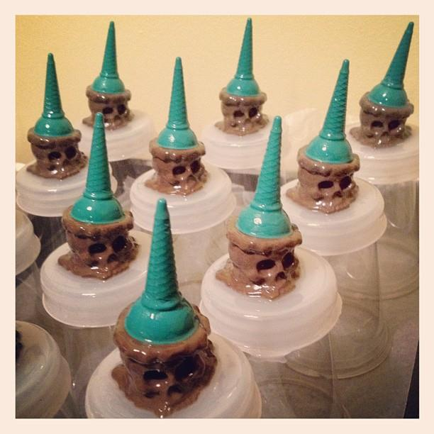 Pine Cone Ice Scream Snow Cones by Brutherford x Jeremyriad