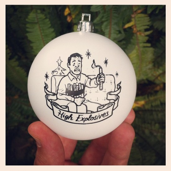 Tis the Season for Suicide Christmas ornaments by Todd Francis