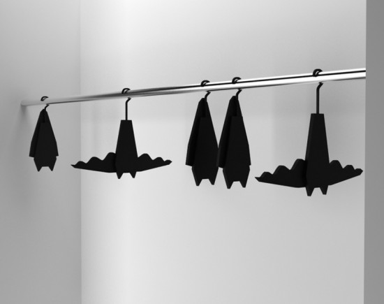 Bat Hangers popjects by Veronika Paluchova