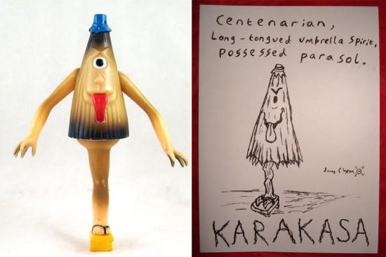 vintage Karakasa toy, 1968