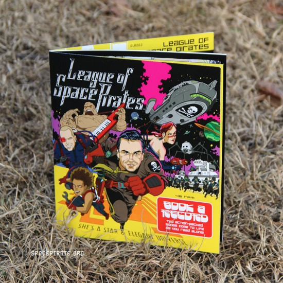 League of Space Pirates book and record set