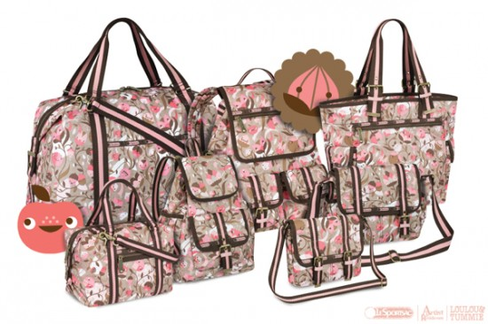 LouLou & Tummie Happy Flowers for LeSportsac