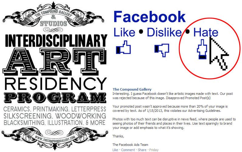 Compound Gallery vs. Facebook