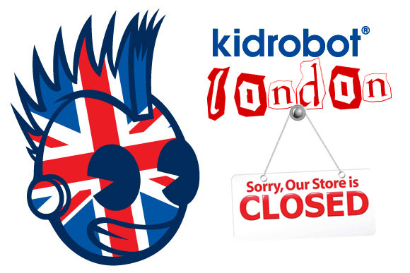 Kidrobot London store closing