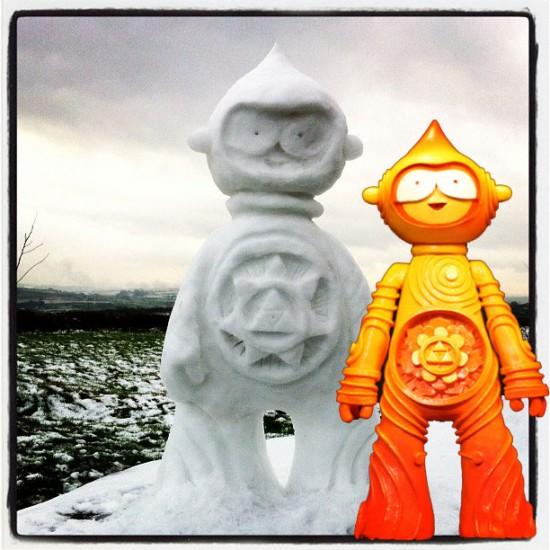 a Mujuworld Snowmandala