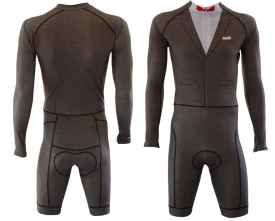 Pee Wee's Big Adventure skin suit cult kit by Podium Cycling