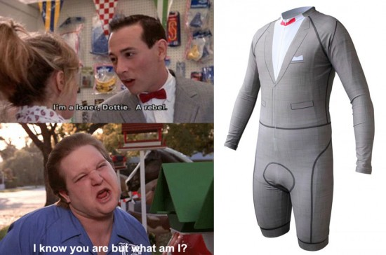 Pee Wee's Big Adventure skin suit