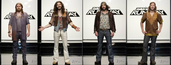 The Sheepdogs on Project Runway