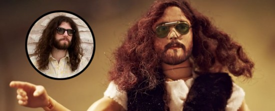 Ryan Gullen of The Sheepdogs as a doll by Kira Shaimanova