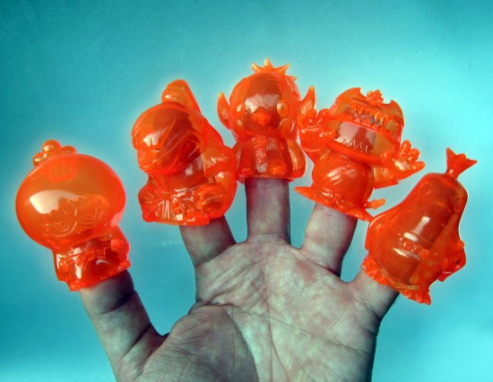 Wonderwall Sofubi Set orange