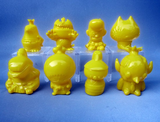 Wonderwall Sofubi Set yellow