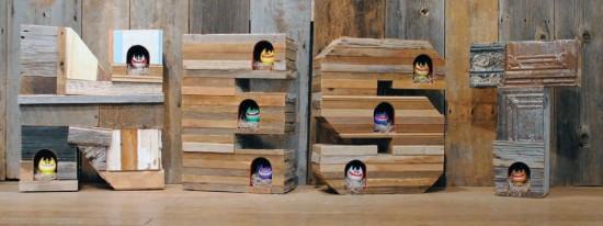 T9G Peaky Nest toy art