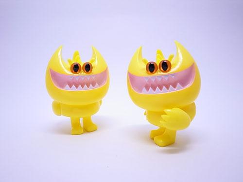 yellow PeaKY sofubi