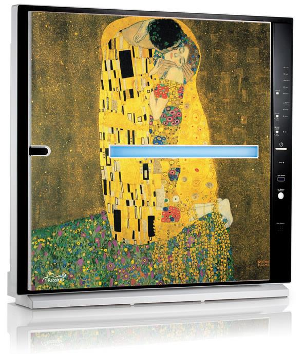 gustav klimtu0027s the kiss artist air purifier from rabbitair