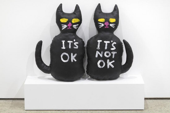 Cat (It's OK, It's Not OK) by David Shrigley