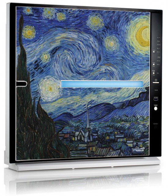 Van Gogh's Starry Night Artist Air Purifier from RabbitAir