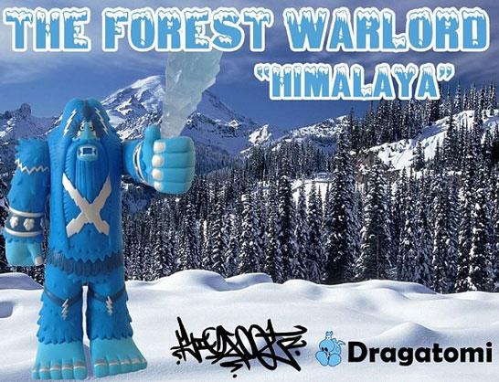 Himalaya Blue Edition Forest Warlord by Bigfoot x Dragatomi