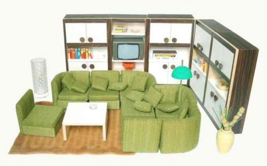 Bodo Hennig dollhouse furniture (1970s)