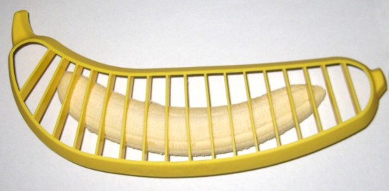 The Hutzler Banana Slicer