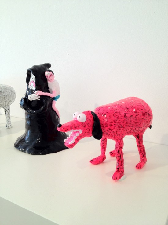 Jay Howell sculptures for Enthusiastic Person at FFDG in San Francisco