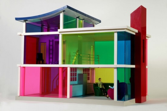 The Kaleidoscope House designer dollhouse (2001)
