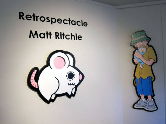 Retrospectacular: The Artwork of Matt Ritchie