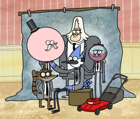 The Regular Show interview with J.G. Quintel