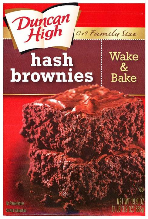 Ron English Duncan High Hash Brownies
