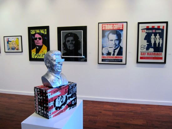 Frank Kozik prints and vinyl
