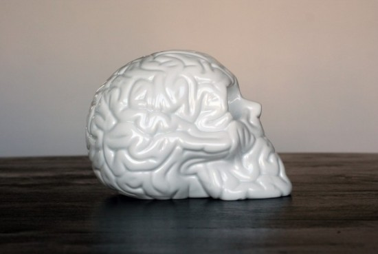 Porcelain Skull Brains from Emilio Garcia x K. Olin Tribu
