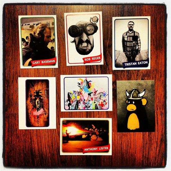 The Art Hustle trading cards series 3
