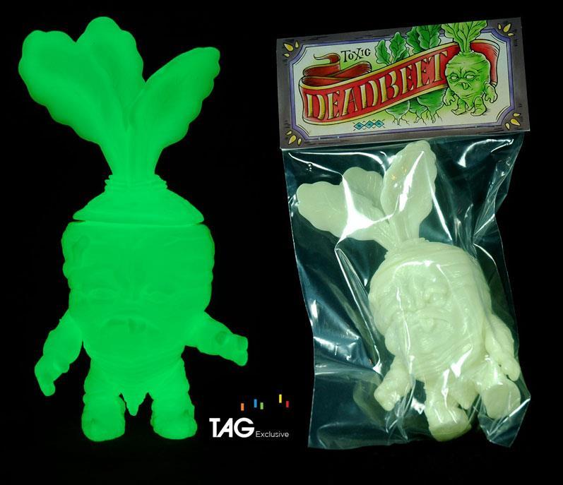 Scott Tolleson x TAG Deadbeet Toxic GID Edition