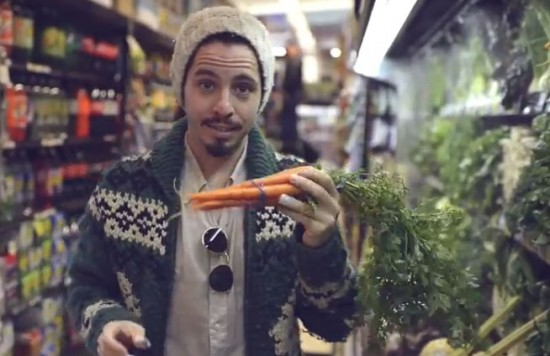 j.viewz plays Massive Attack with vegetables