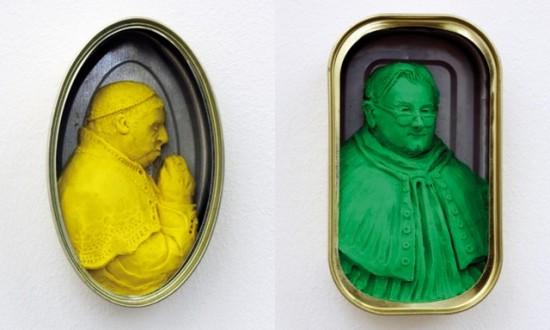 Polka Popes by Miriam Jonas